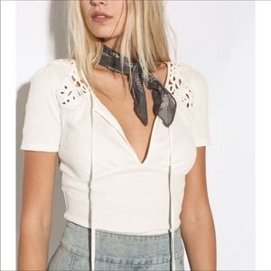 Blast from the past crochet top free people